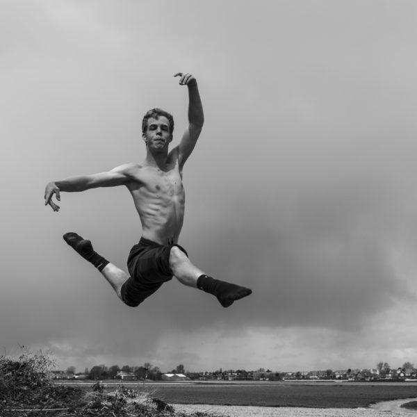 Jesse springt